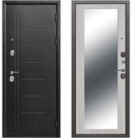Входная дверь Гарда Троя серебро Maxi Белый ясень (86х205, правая) -