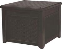 Сундук уличный Keter Cube Rattan 208L / 237779 (коричневый) -