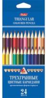 Набор цветных карандашей Hatber BKt_24400 (24цв) -