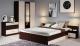Комплект мебели для спальни Империал Алёна 3 (венге/дуб молочный) -