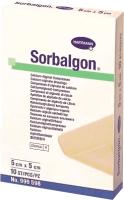 Повязка тампонируемая Sorbalgon Стерильная 5x5 -