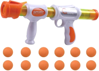 Бластер игрушечный Aojie С шариками / AJ002-19PG -