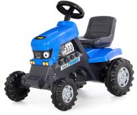 Каталка детская Полесье Turbo Трактор / 84620 (синий) -