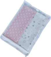 Набор пеленок детских Martoo Comfy-7 / CM-7-2-GR/PN (розовый/серый) -