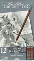 Набор простых карандашей Cretacolor Cleos 9B-2H (12шт) -