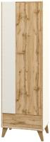 Шкаф Мебель-Неман Сканди МН-036-09 (дуб вотан/белый) -