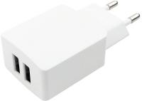 Зарядное устройство сетевое Digitalpart WC-221 2.1A с кабелем microUSB (белый) -
