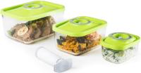 Комплект аксессуаров для вакуумирования Status Vac-Glass-Set (зеленый) -