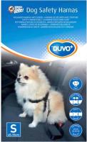 Ремень безопасности для собак Duvo Plus 121003/DV (S, черный) -