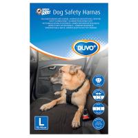 Ремень безопасности для собак Duvo Plus 121005/DV (L, черный) -