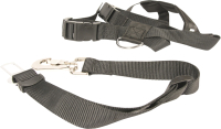Ремень безопасности для собак Duvo Plus 121006/DV (XL, черный) -