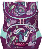 Школьный рюкзак Grizzly RAn-082-2/610732 (фиолетовый) -