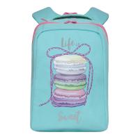 Школьный рюкзак Grizzly RG-066-1 (мятный) -