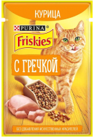 Корм для кошек Friskies Курица с гречкой (75г) -