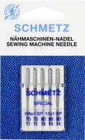 Иглы для швейной машины Schmetz 130/705HAx1SP супер стрейч №75-90 (5шт) -
