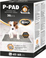 Одноразовая пеленка для животных Duvo Plus С угольными гранулами 45x60 / 11505/DV (30шт) -