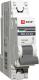Выключатель автоматический EKF ВА 47-63 1P 25А (C) 4.5kA PROxima / mcb4763-1-25C-pro -