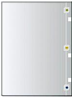 Зеркало интерьерное Алмаз-Люкс 10с-Д/002 -