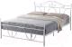 Двуспальная кровать Signal Denver 160x200 (белый) -