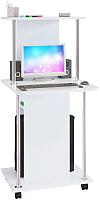 Компьютерный стол Сокол-Мебель КСТ-12 (белый) -