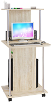 Компьютерный стол Сокол-Мебель КСТ-12 (дуб сонома) -