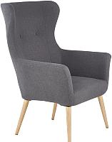 Кресло мягкое Halmar Cotto (темно-серый) -