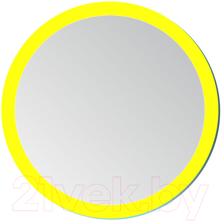 Купить Зеркало интерьерное Алмаз-Люкс, 10с-Н/006-01, Беларусь, желтый