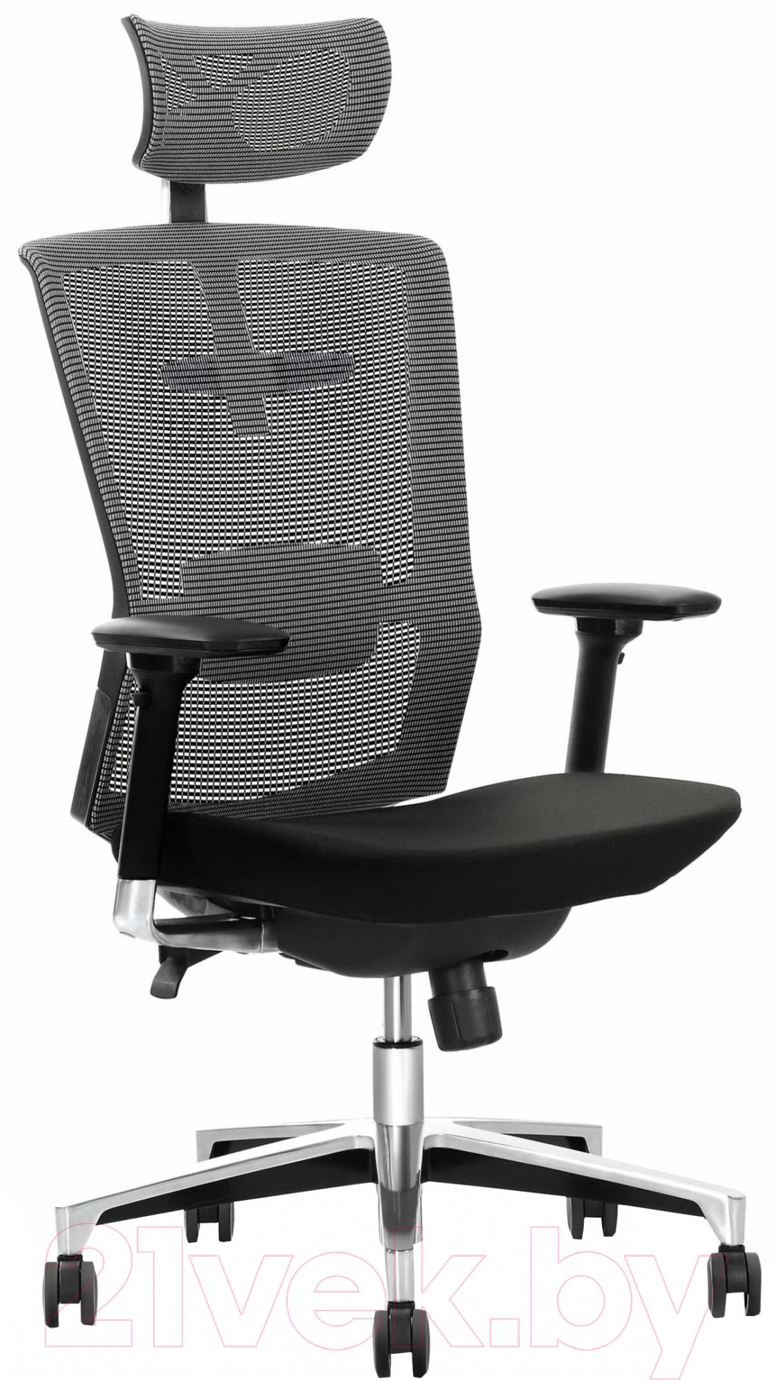 Купить Кресло офисное Halmar, Ambasador (черный/серый), Китай, Ambasador (Halmar)