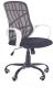 Кресло офисное Halmar Dessert (белый/черный) -