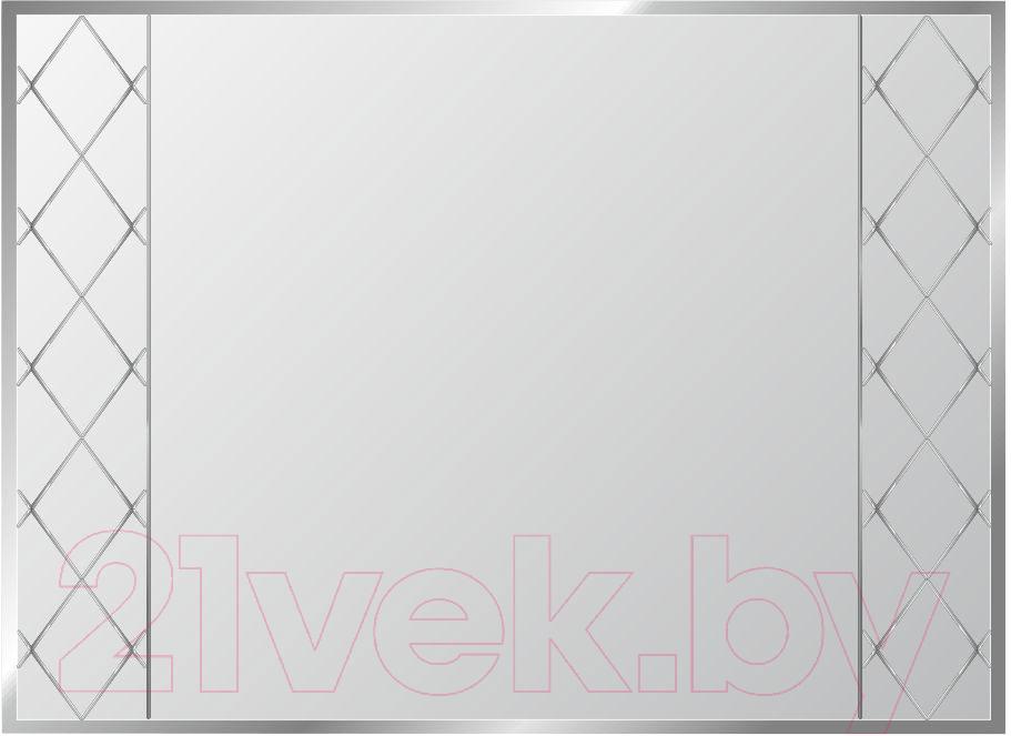 Купить Зеркало интерьерное Алмаз-Люкс, Г-033, Беларусь, белый