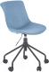 Кресло офисное Halmar Doblo (бирюзовый) -