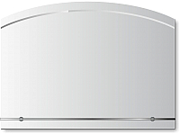 Зеркало для ванной Алмаз-Люкс Г-039 -