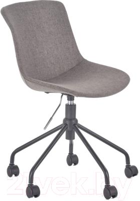 Кресло офисное Halmar Doblo (серый)