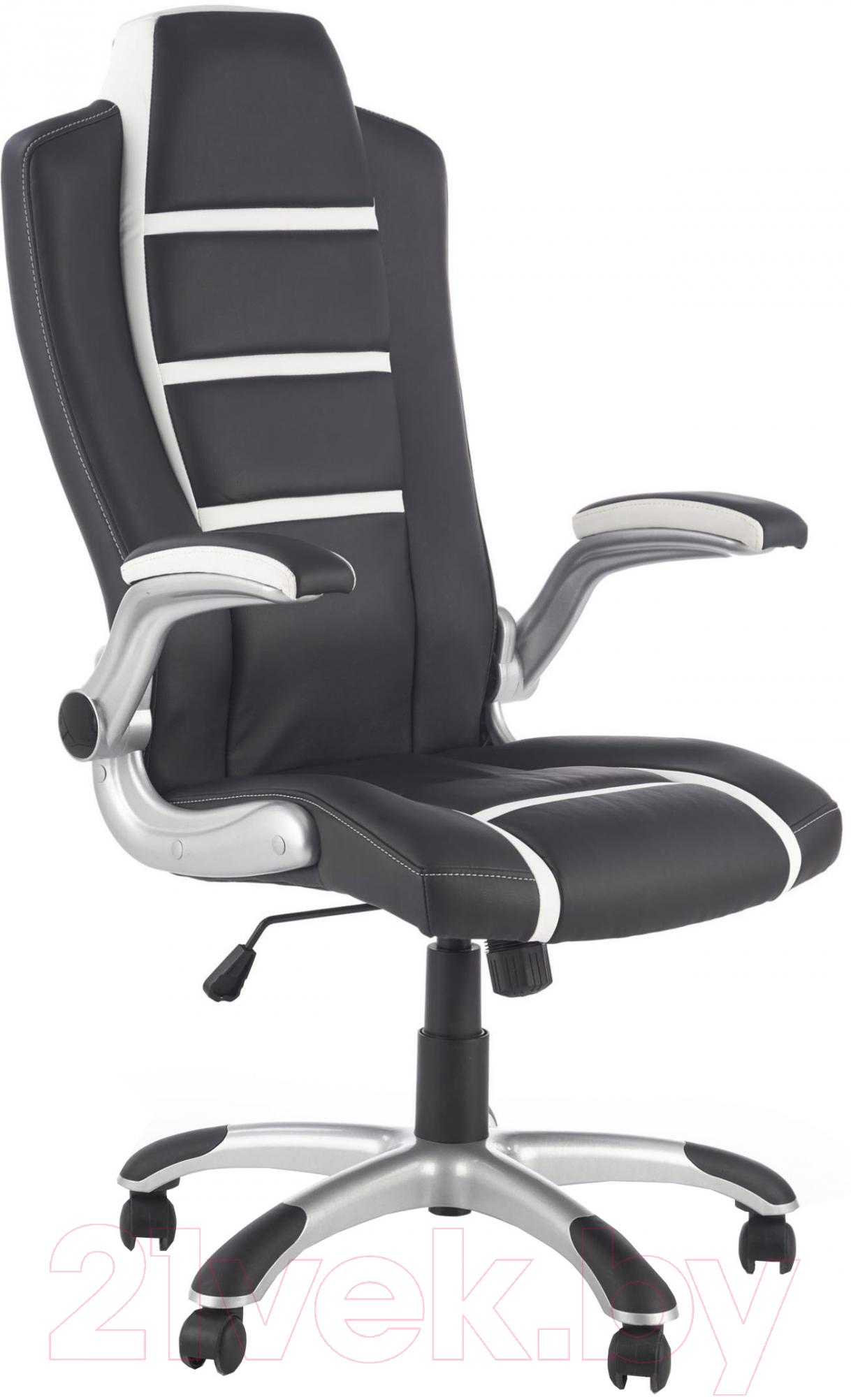 Купить Кресло офисное Halmar, Fast (черный/белый), Китай, Fast (Halmar)