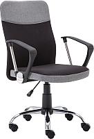 Кресло офисное Halmar Topic (черный/серый) -