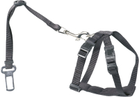 Ремень безопасности для собак EBI 313/419212 (M, черный) -