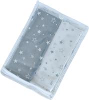 Набор пеленок детских Martoo Comfy-7 / CM-7-2-GR/WT (звезды, бело-серый) -