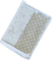 Набор пеленок детских Martoo Comfy-7 / CM-7-2-WT/BG (белый/бежевый) -