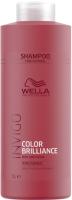 Шампунь для волос Wella Professionals Invigo Color Brilliance для защиты цвета жестких волос (1л) -