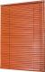Жалюзи горизонтальные АС ФОРОС 9801 150x160 (красное дерево) -