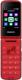 Мобильный телефон Philips Xenium E255 (красный) -