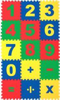 Коврик-пазл Eco Cover Математика / 25МПД1/Ц -
