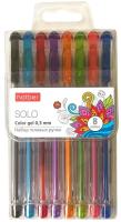 Набор гелевых ручек Hatber Solo ColorGel / SP-058909 (8цв) -