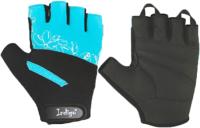 Перчатки для пауэрлифтинга Indigo SB-16-1734 (XS, бирюзовый) -