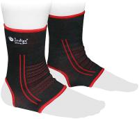 Суппорт голеностопа Indigo 902 КС (L, черный/красный) -