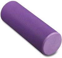 Валик для фитнеса массажный Indigo Foam Roll / IN021 (фиолетовый) -