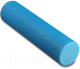 Валик для фитнеса массажный Indigo Foam Roll / IN022 (голубой) -