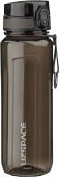 Бутылка для воды UZSpace Tritan One Touch / 6019 (750мл, черный) -