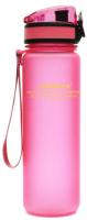 Бутылка для воды UZSpace Colorful Frosted / 3026 (500мл, розовый) -