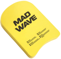 Доска для плавания Mad Wave Kids (желтый) -